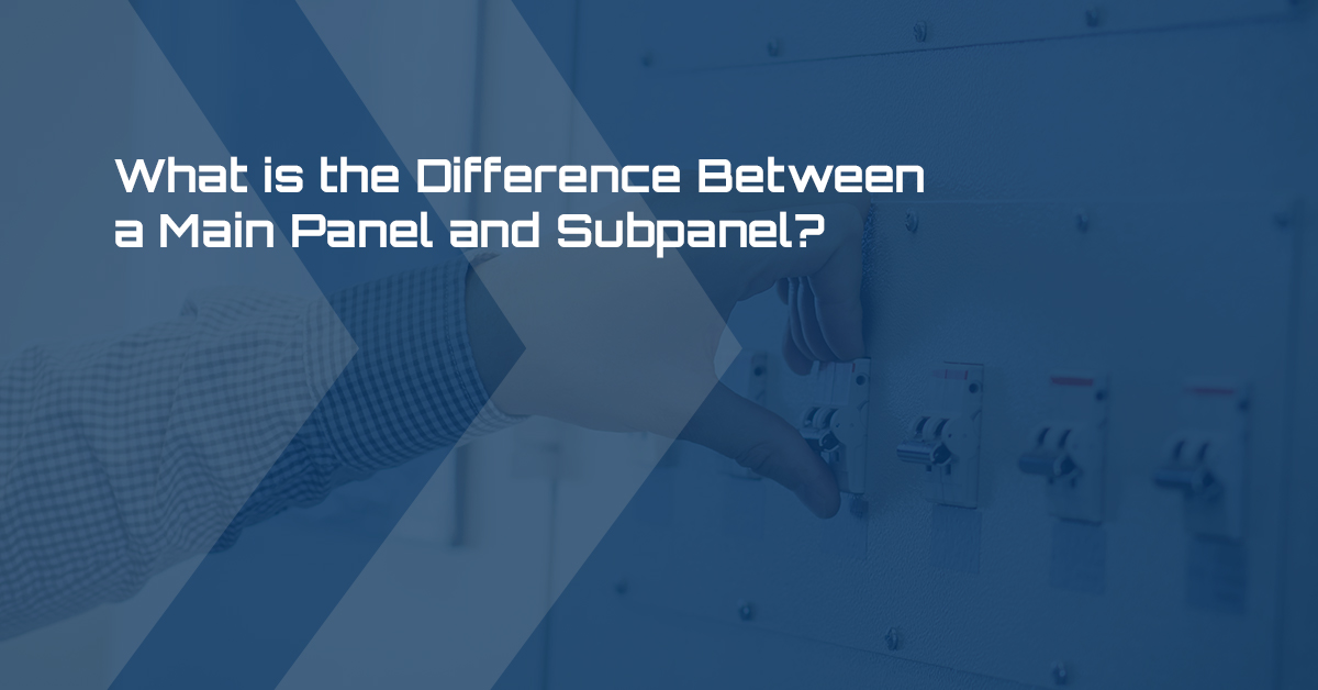 Distribution Panel Boards  What Is The Difference Between